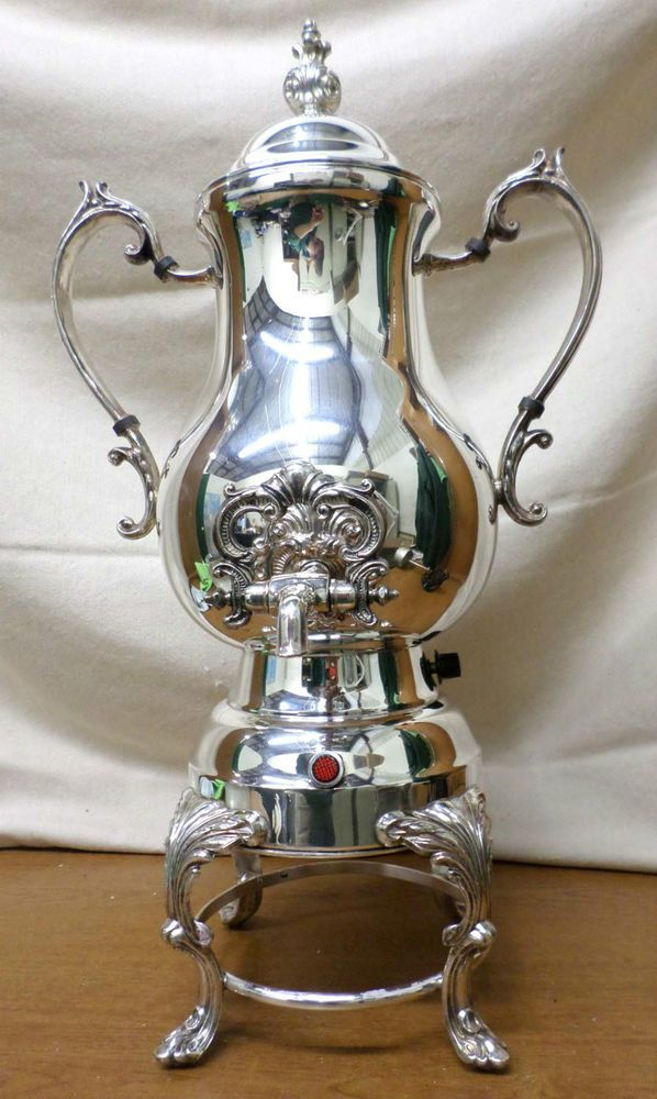 Burner vintage silverplate