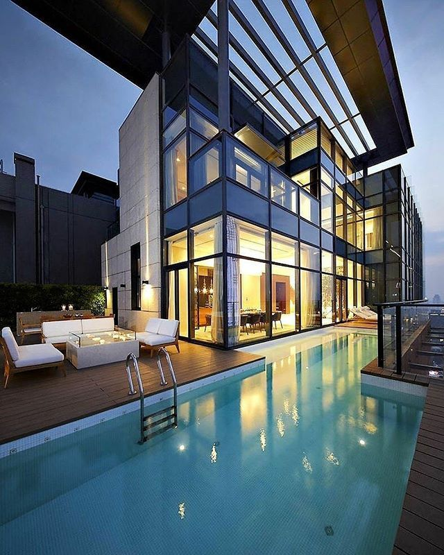 Amazing Duplex Penthouse designed by Kokaistudios Shenzhen #China