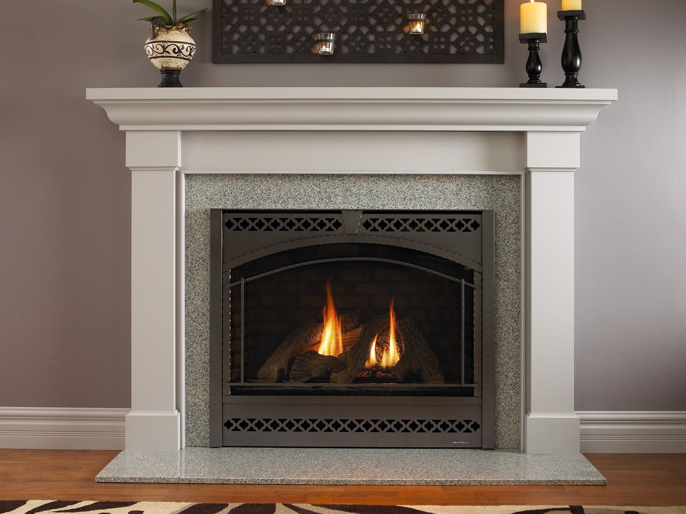 I love our fireplace so much. I hope that when we buy a house we ...