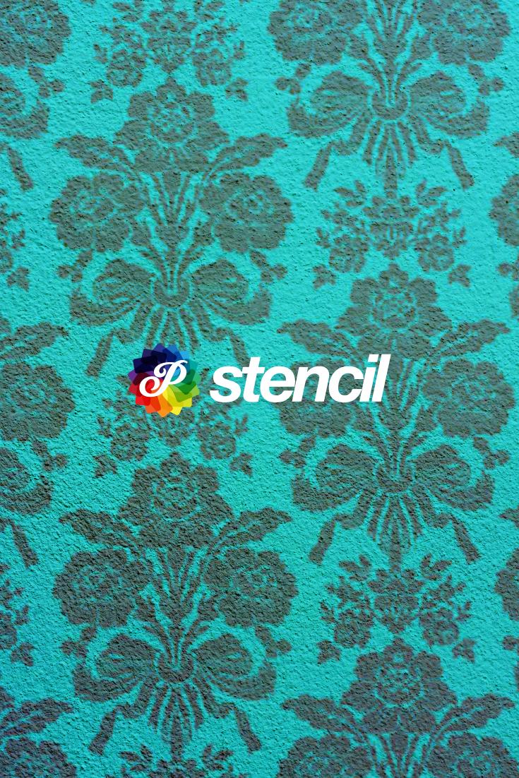 El arte del stencil para decorar paredes muebles telas y ac