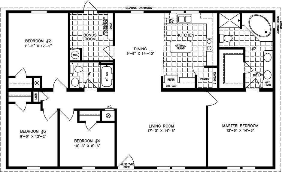 1400 Sq Ft Floor Plans 1400 Sq Ft Basement 1800 Square Foot House Plans Treesranch Com House Floor Plans 4 Bedroom House Plans Metal House Plans
