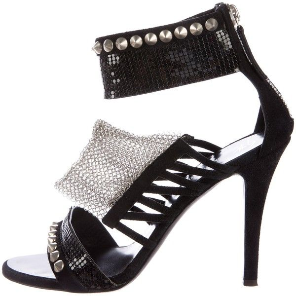 Pre-owned - Sandals Giuseppe Zanotti X Balmain YgAENFWJ