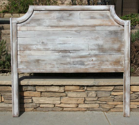 Reclaimed Queen Headboard Grace By Foo Foo La By FooFooLaLaChild