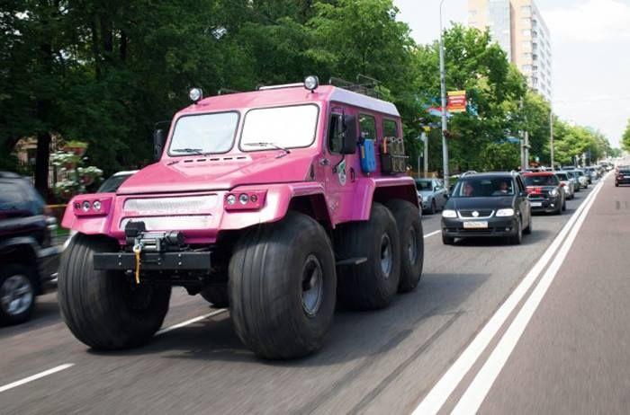 Trecol 6x6 All Terrain Truck Amphibious Russian Extreme Offroad Trucks Custom Trucks Trucks Pics