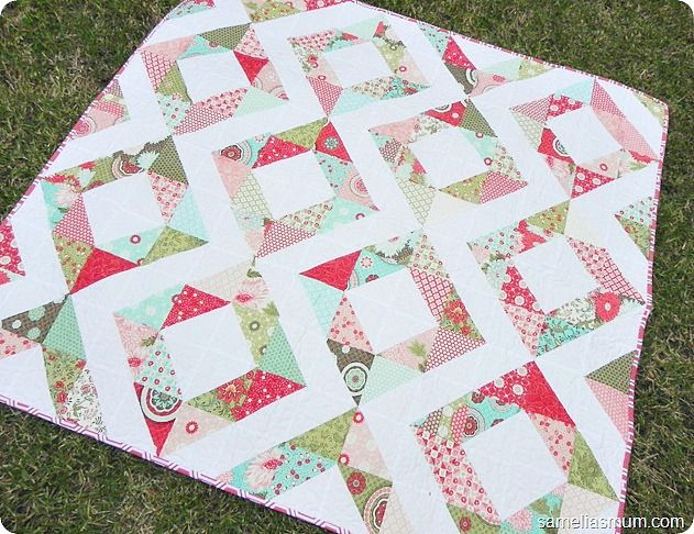 Free Charm Pack Quilt Patterns Sewing Tutorials Ideas