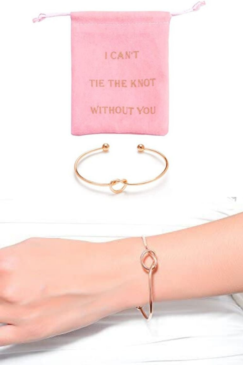Knot bracelet Bridesmaid gift Friendship bracelet Party Gifts  Tie the Knot
