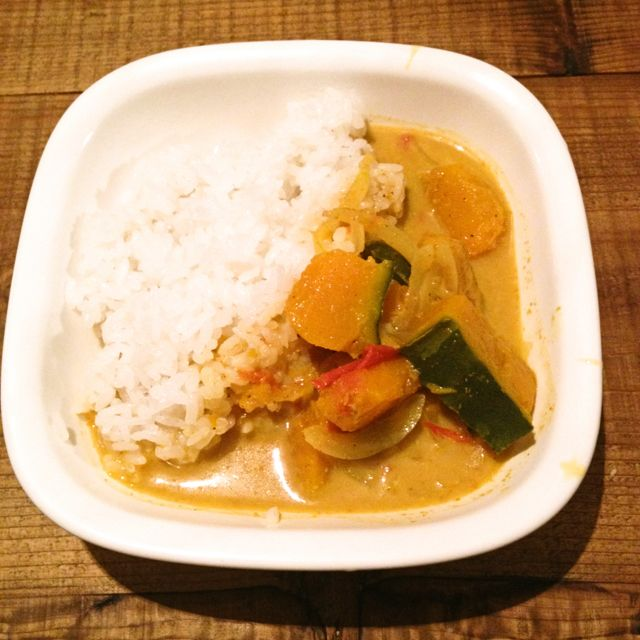 pumpkin curry (Sri Lanka style)