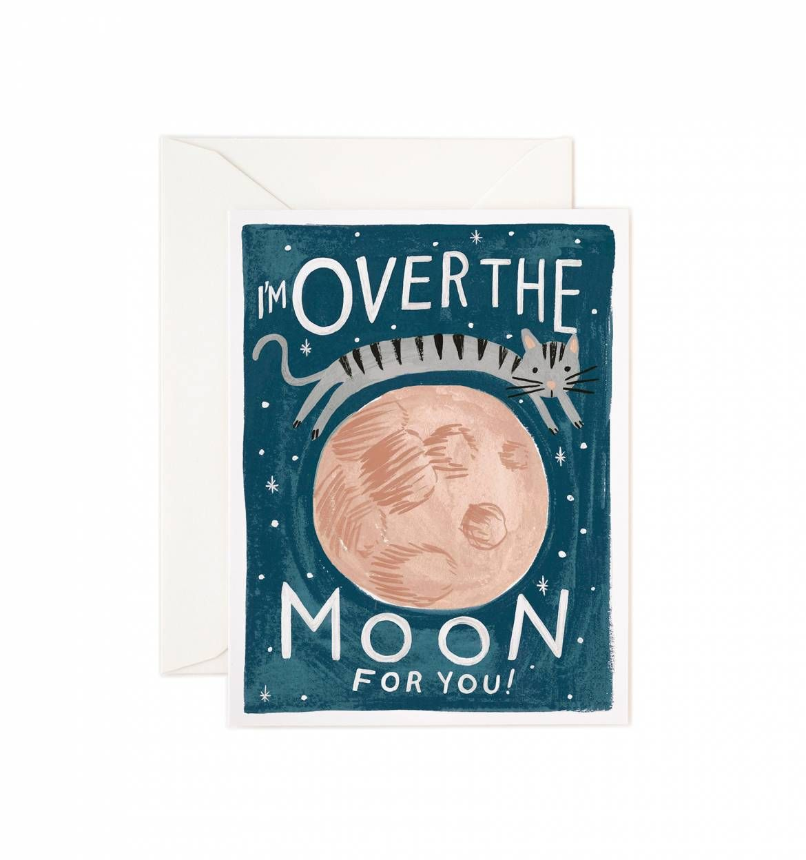 Over the moon greeting card box sets and moon over the moon greeting card kristyandbryce Choice Image