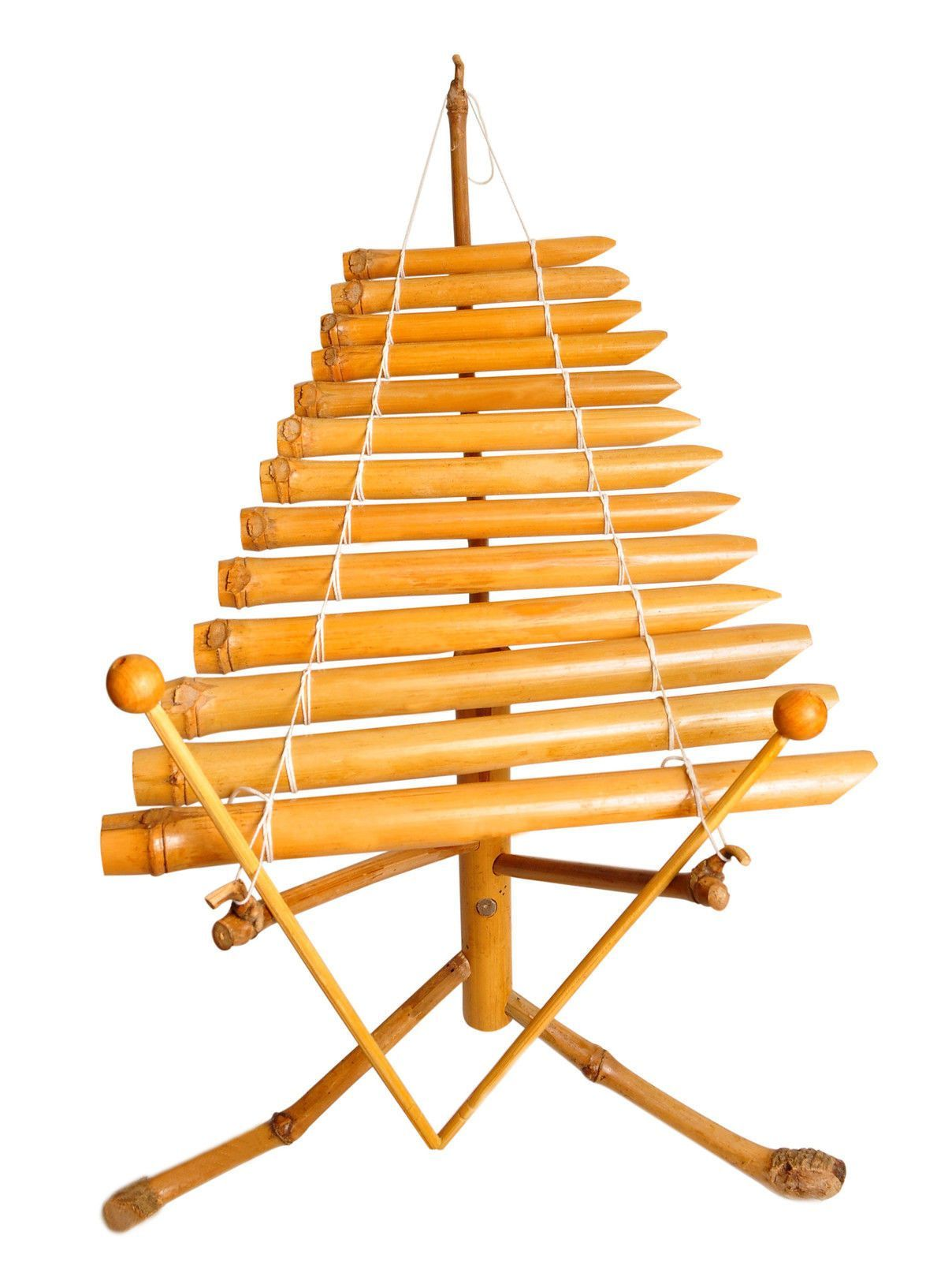 Bamboo Xylophone Vietnamese Traditional Instrument mini T
