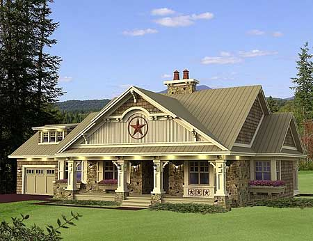 Plan w14601rk cottage country northwest craftsman for Country craftsman house plans