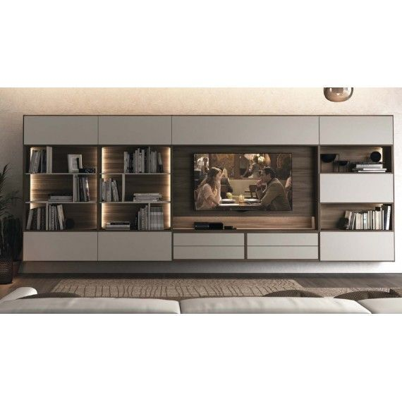 Photo of Parete attrezzata moderna L13 Colombini Casa, #attrezzata #Casa #Colombini
