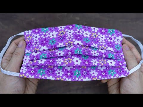Photo of Face Mask Sewing Tutorial | How to make Fabric Face Mask | Cloth Face Mask No Sewing Machine