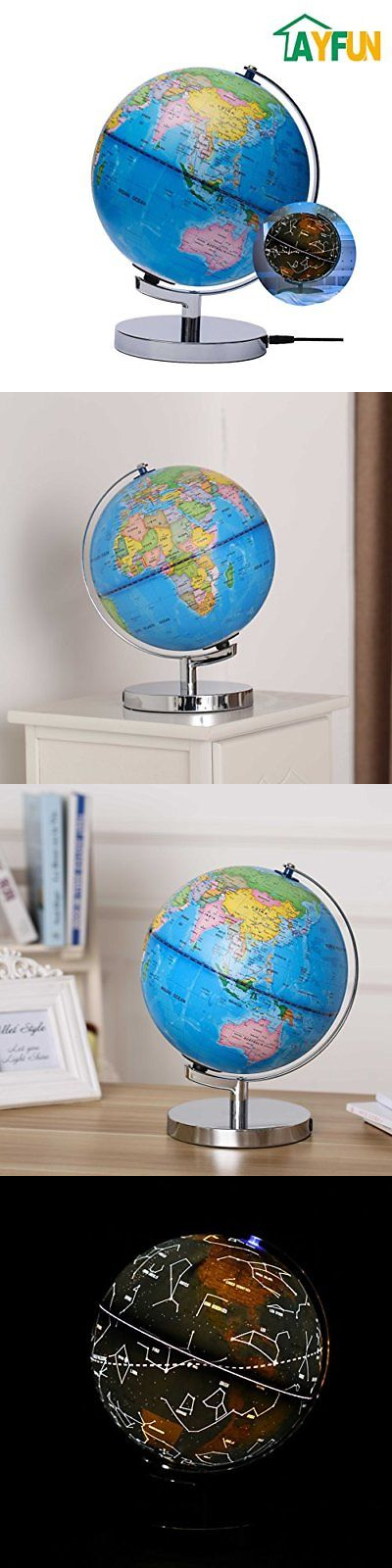 Geography and history 11733 ayfun celestial interactive globe day geography and history 11733 ayfun celestial interactive globe day view world globe and night view gumiabroncs Image collections