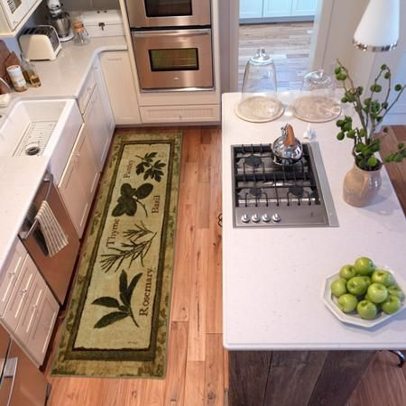 Mohawk Home Fine Herbs Kitchen Rug Multi Color Kitchen Dining Room Pinterest