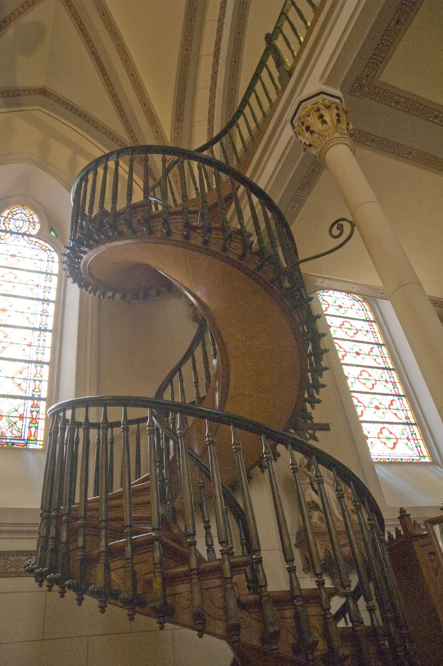 Best The Staircase Built By St Joseph Loreto Chapel Santa Fe 640 x 480