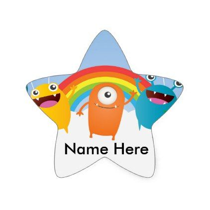 Mini Brothers Personalized Family Super Star Sticker