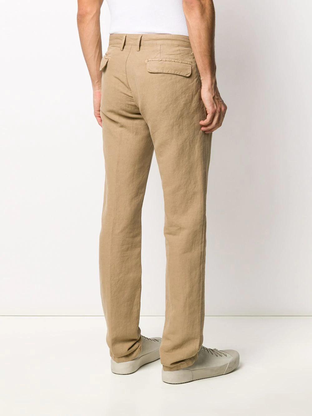 Massimo Alba Pantalones Rectos Farfetch Moda Para Hombres Grandes Moda Para Hombre Casual Ropa De Hombre
