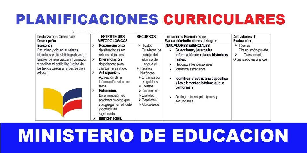 Planificaciones Planificación Curricular Informatica