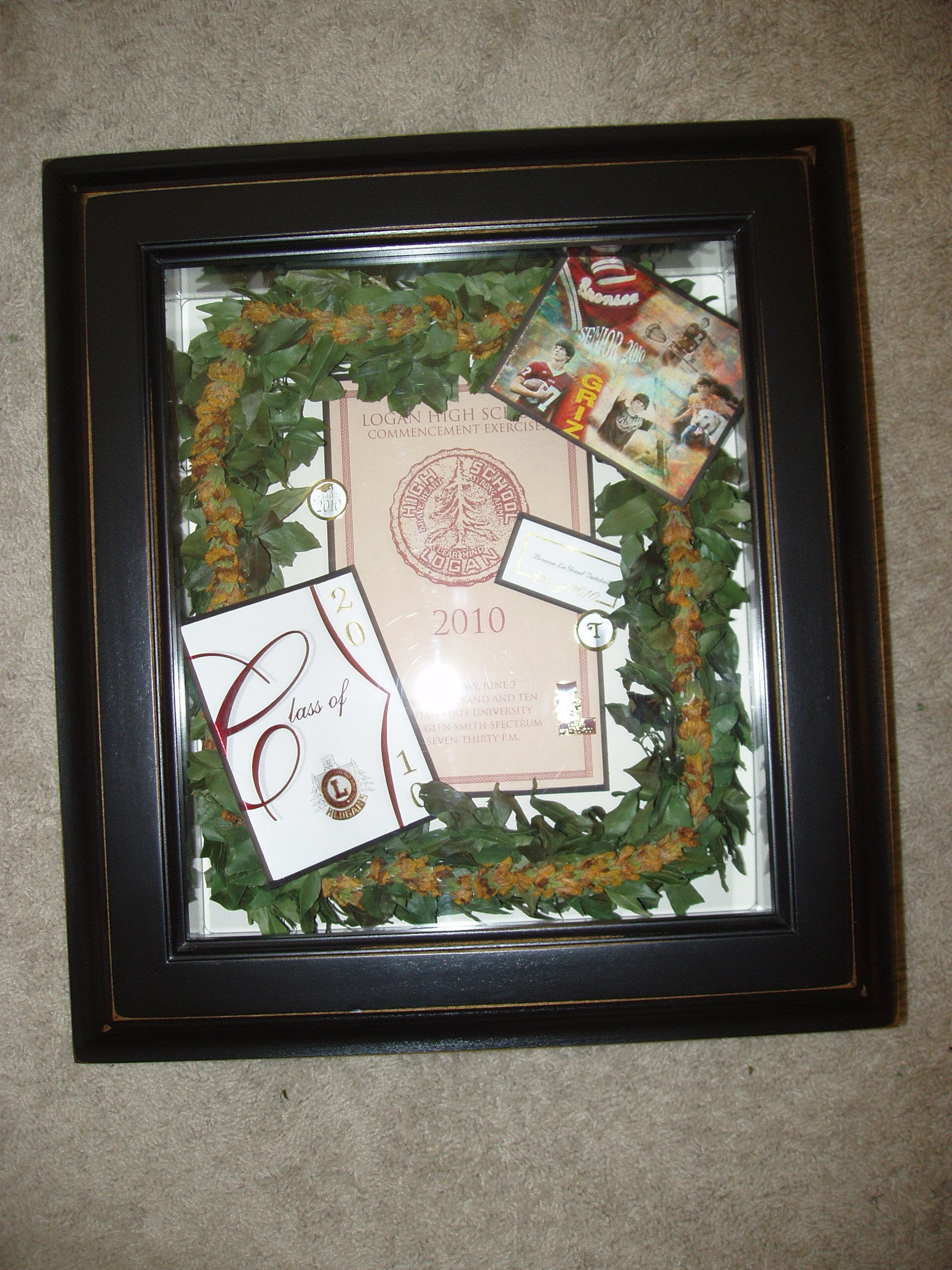 Graduation lei and memory box flower preservation pinterest graduation lei and memory box buycottarizona Gallery