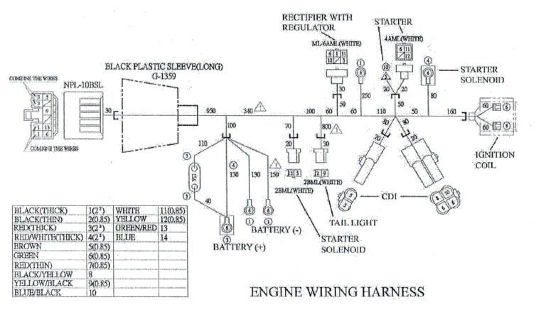 Hensim Atv Wiring Diagram 150cc Gy6 Engine Scooter 4 Pin Alarm Go Throughout 150cc Ford Ranger Diagram Automotive Logo