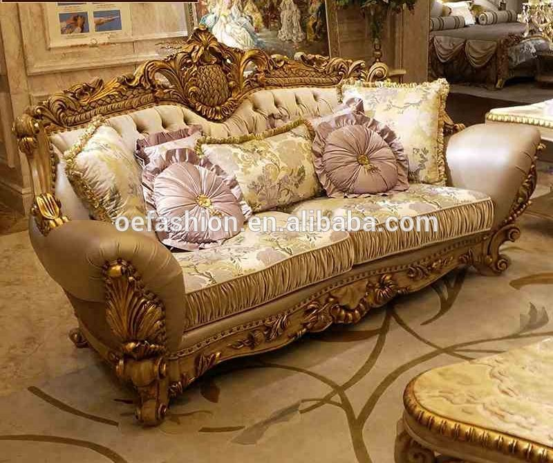 Charming OE FASHION Luxury Leather Living Room Sofa Set, Wood Carving Living Room Sofa  Designs, View Germany Living Room Leather Sofa, OE FASHION Product Details  ...