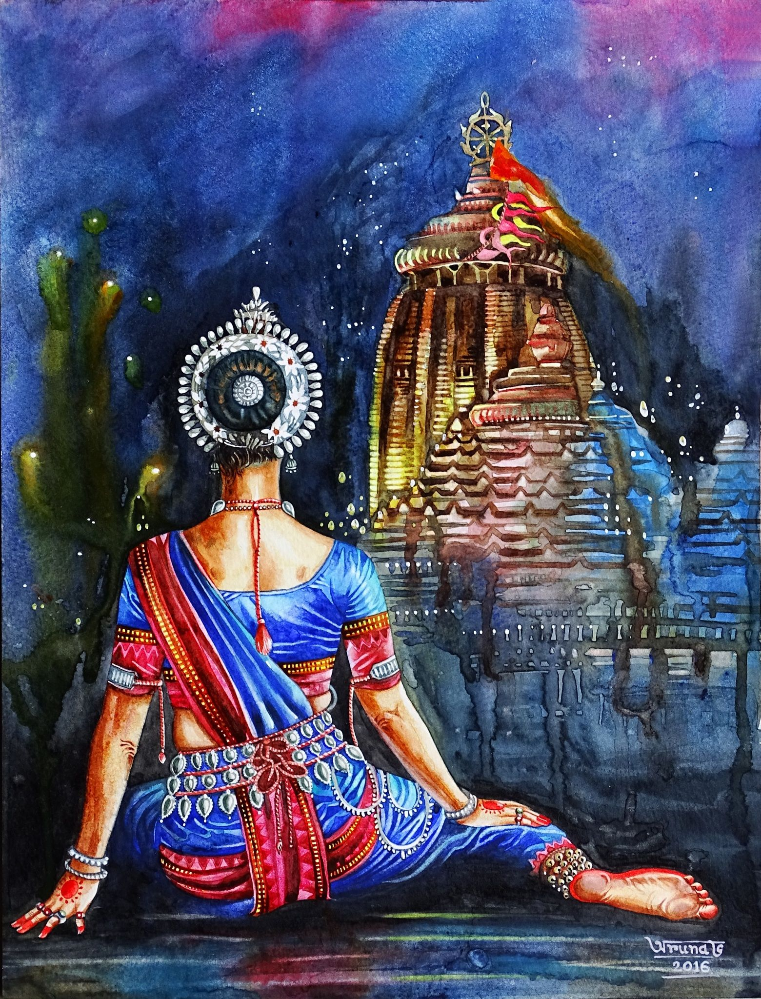 Jagannath Dance Paintings India Art