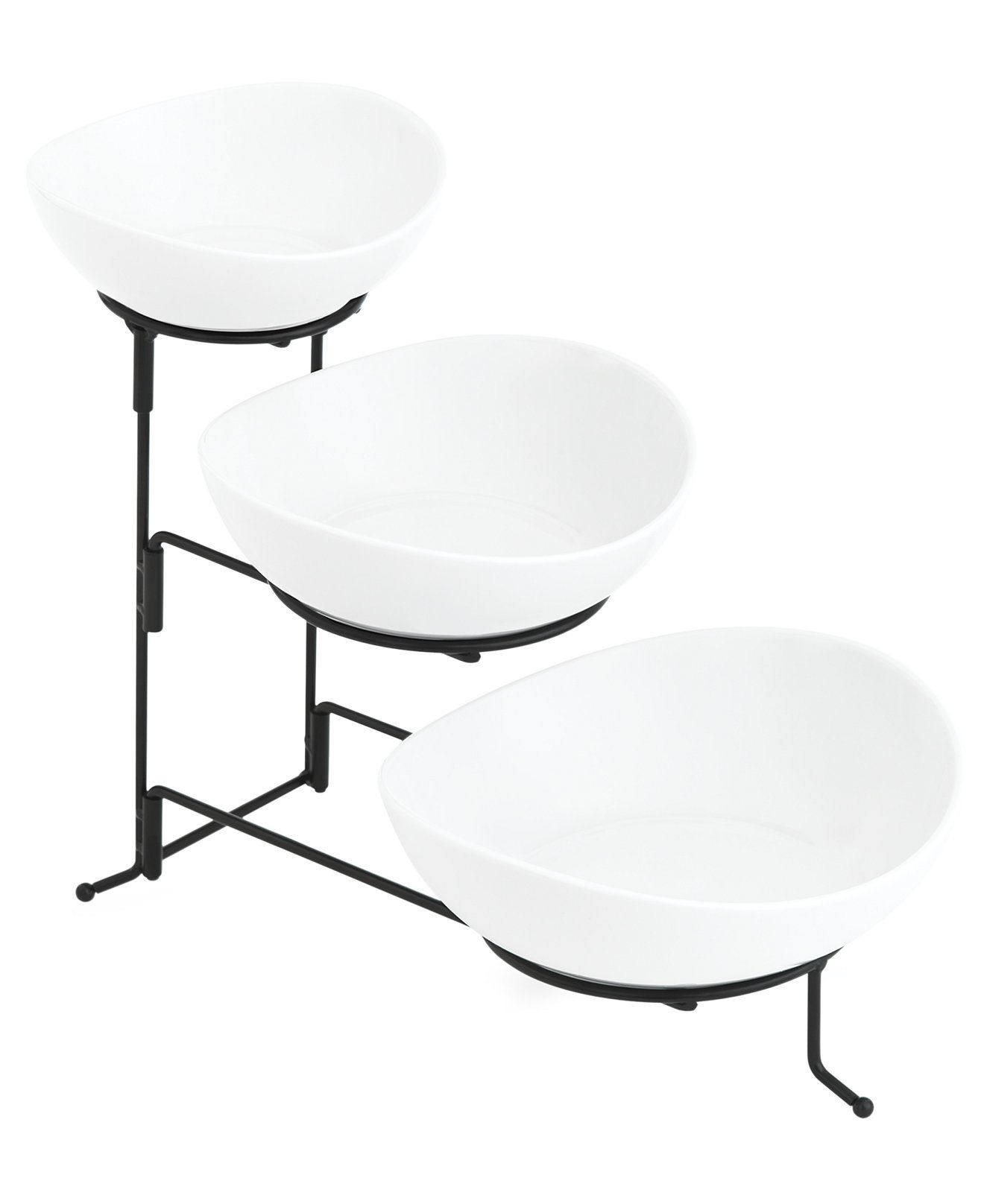 The Cellar Whiteware 3 Tiered Oval Server - Serveware - Dining & Entertaining - Macy's