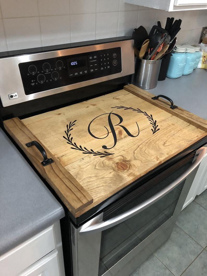 Tagliere Per Piano Cucina copertura per piano cottura, vassoio da portata, coperchio