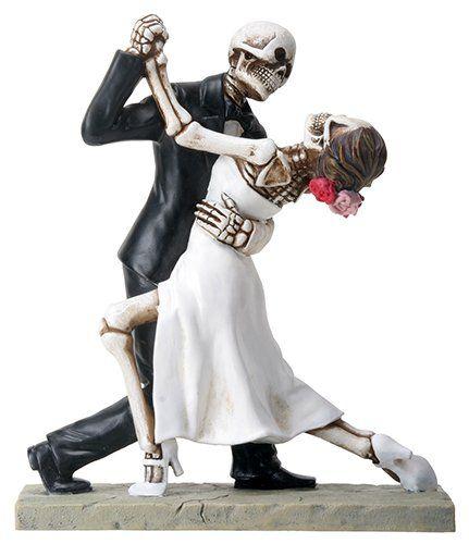 Day of The Dead Skeleton Skull Bride Groom Wedding Ballroom