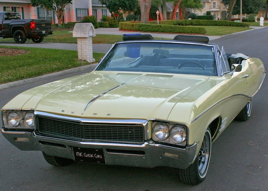 All american classic cars 1968 buick skylark custom 2 for American classic motor cars