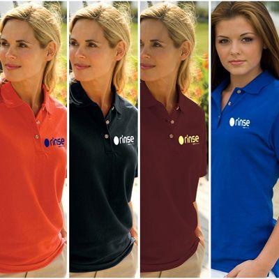 Women's Velocity Pique #Shirt for #custom #restaurant #giveaways.