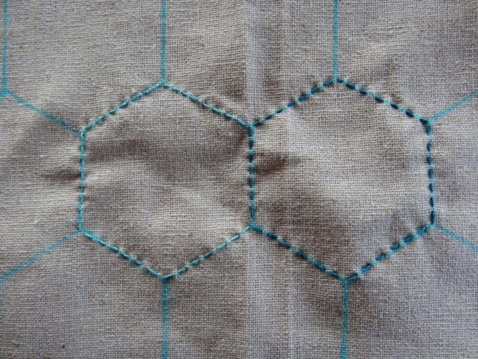 Elven Garden Quilts: Sashiko Tutorial