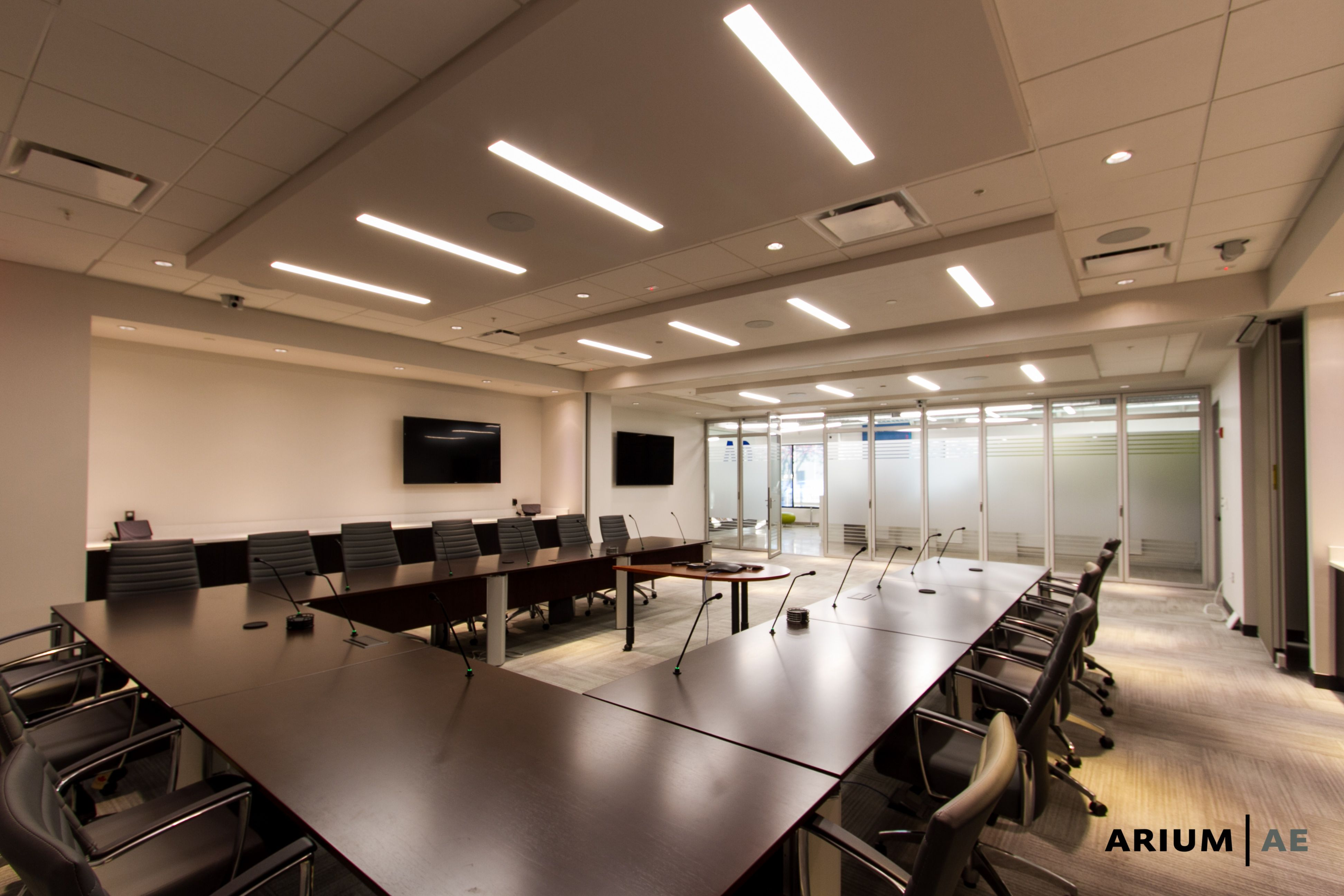 Amazing Board Room Conference Room With Movable Tables And Millwork Ocoug Best Dining Table And Chair Ideas Images Ocougorg