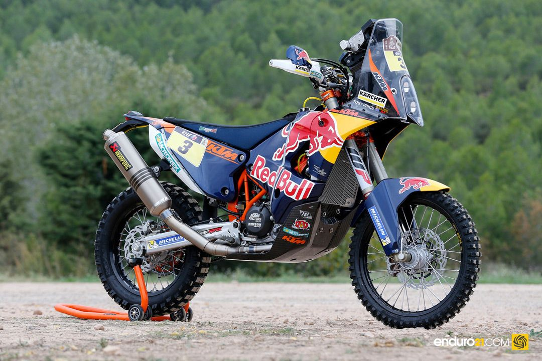 128787 Toby Price KTM 450 RALLY 2015 1080 | Bad Motorscooter