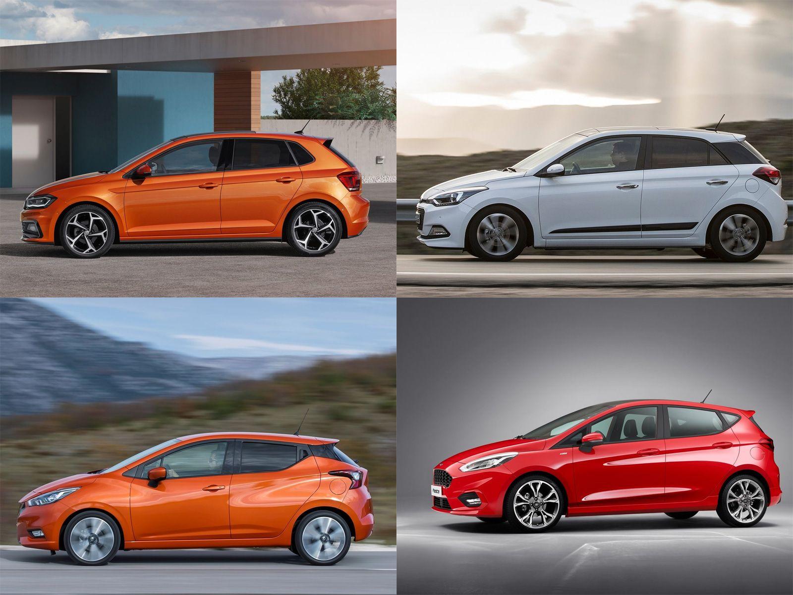 Vw Polo Vs Ford Fiesta Vs Nissan Micra Vs Hyundai I20