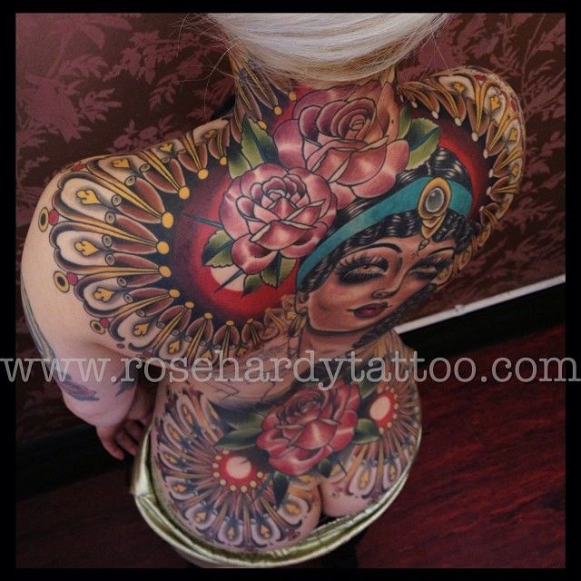 I mean, how perfect can a back piece be???