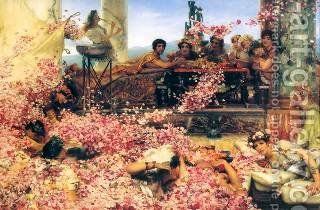 Sir Lawrence Alma-Tadema: The Roses of Heliogabalus, 1888 by Sir Lawrence Alma-Tadema - Reproduction Oil Painting