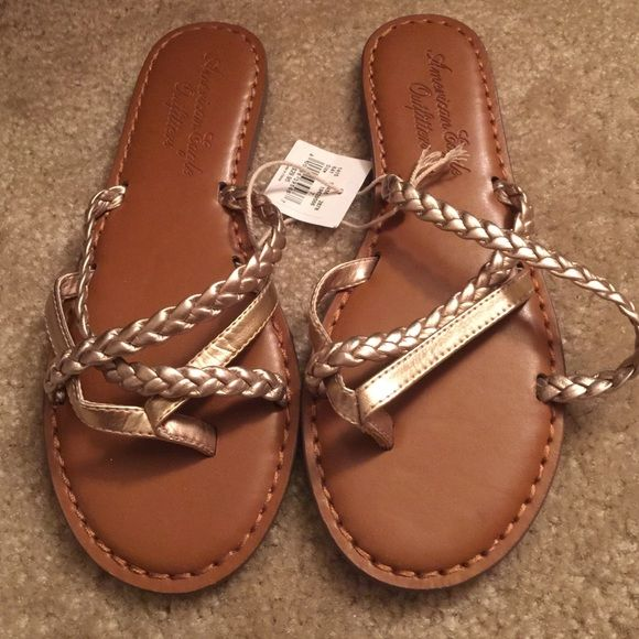 American Eagle Flip Flops! Must Go! Closet clear out! New American eagle flip flops. NWT American Eagle Outfitters Shoes