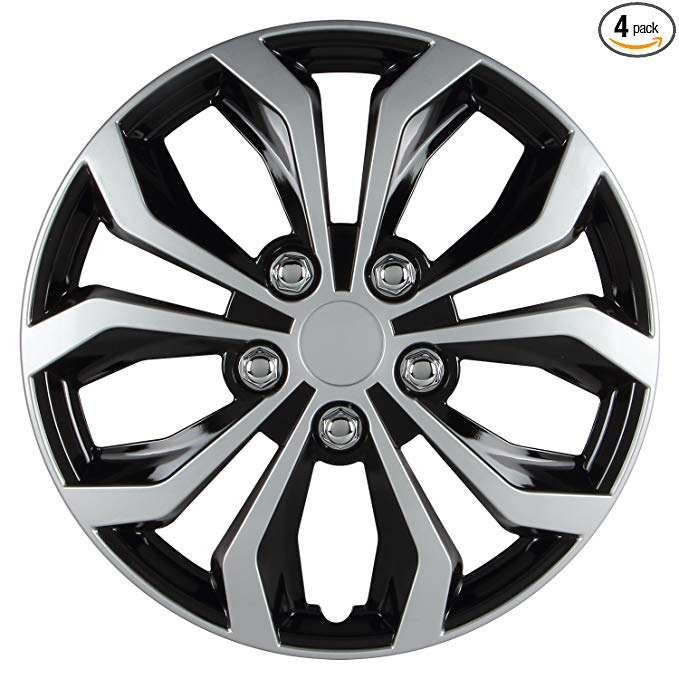 Mini Black Gloss Air Valve Dust Caps Car Wheel Tyre Caps 4 x pcs