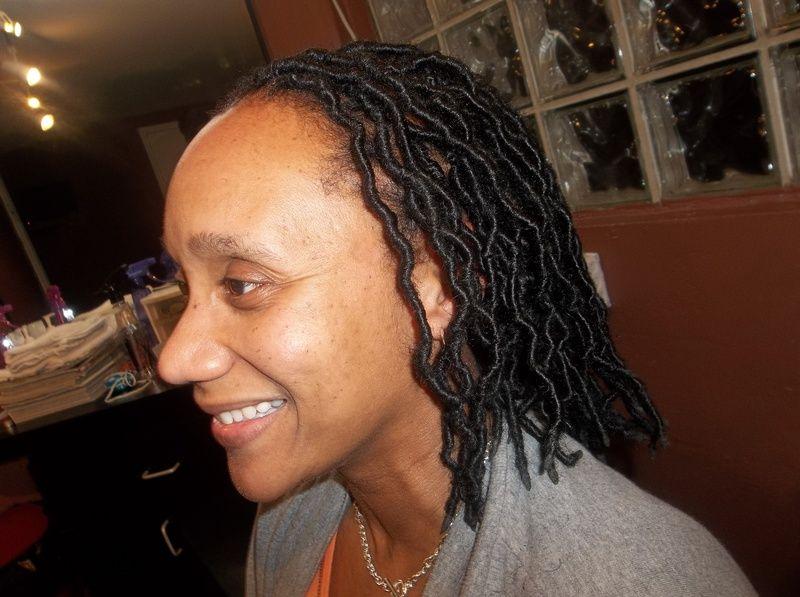 Full Head NecklineLength Goddess Loc Extensions