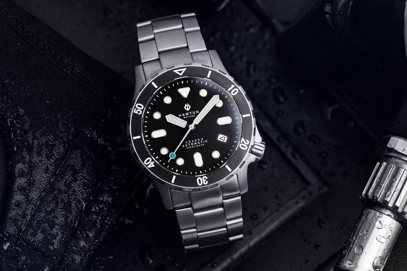 Hamtun Kraken H2 Watch Review Ablogtowatch Watch Review Watches For Men Watches