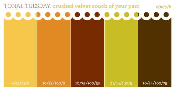Tonal Tuesday Crushed Velvet Couch Of Your Past Mustard Pumpkin