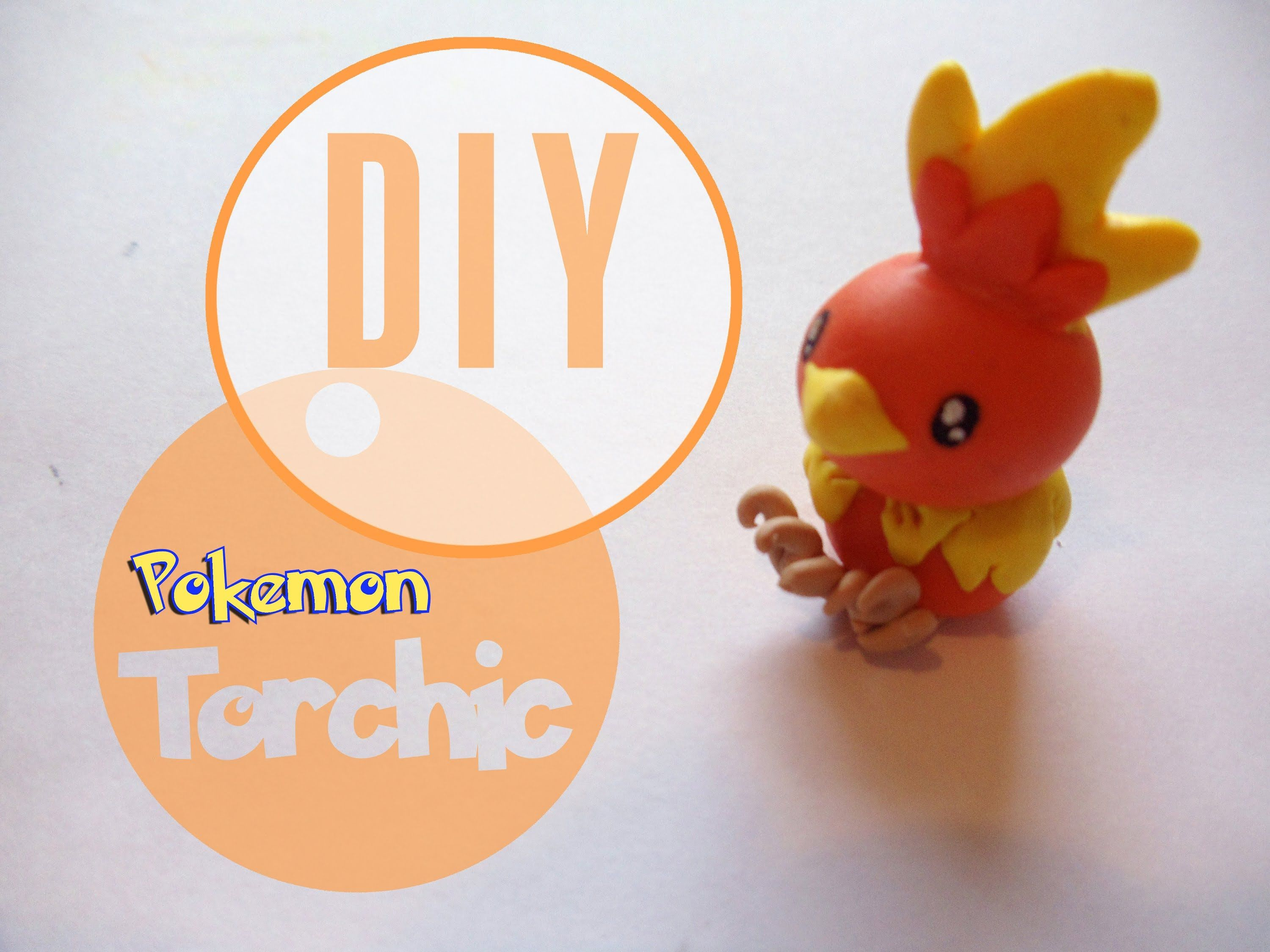 pokemon torchic tutorial polymer clay polymer clay. Black Bedroom Furniture Sets. Home Design Ideas