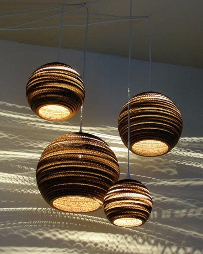 attraktives design hängeleuchten braune gestaltung fürs ... - Schne Braune Schlafzimmer