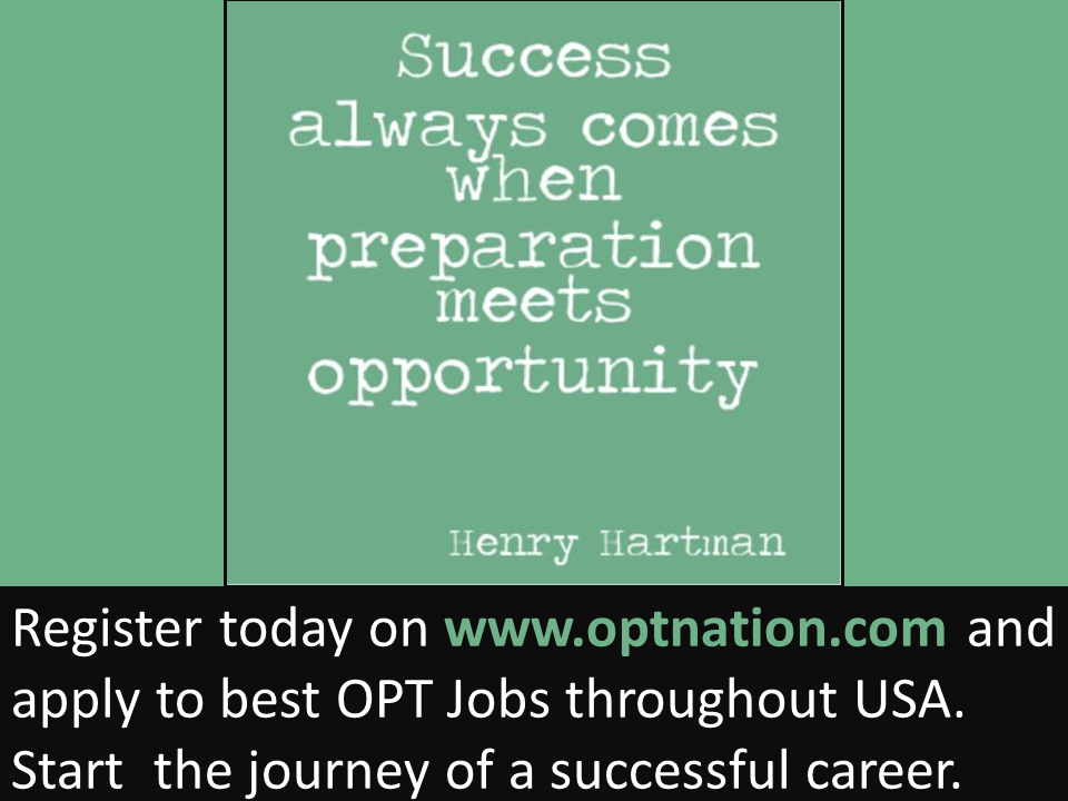 Pin by OPT Nation on International Students Jobs in USA