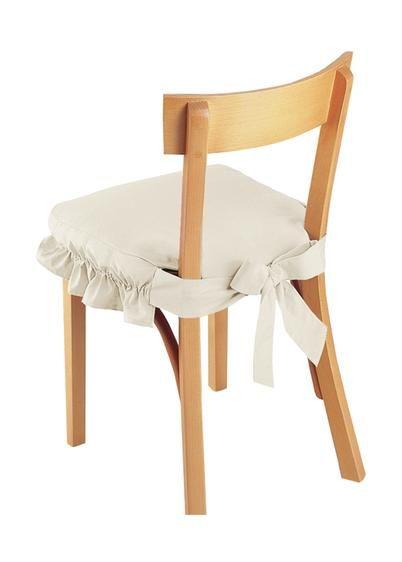 Coprisedia con fiocco | Coprisedia, Fodere delle sedie da ...