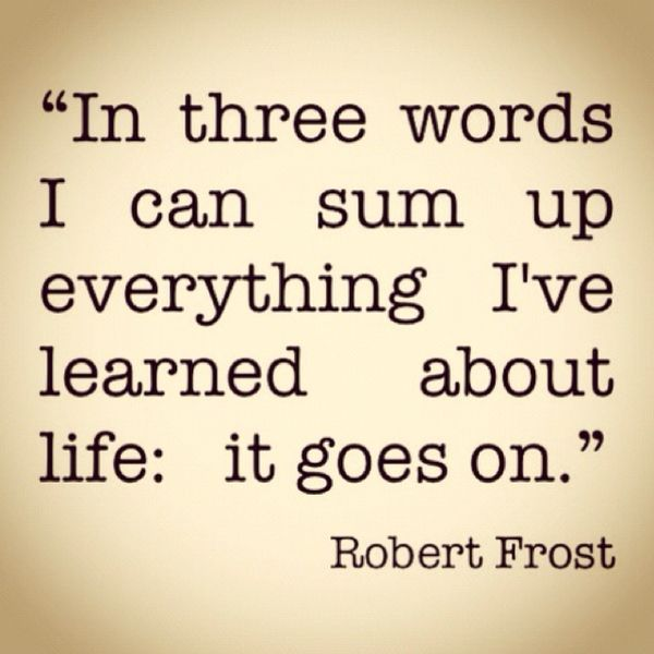 Robert Frost is one of my favorite poets