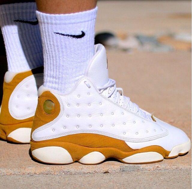 new product 3b526 b3da0 13s | White/Gold | Jordans, Nikes & Other Bitchin' Kicks ...