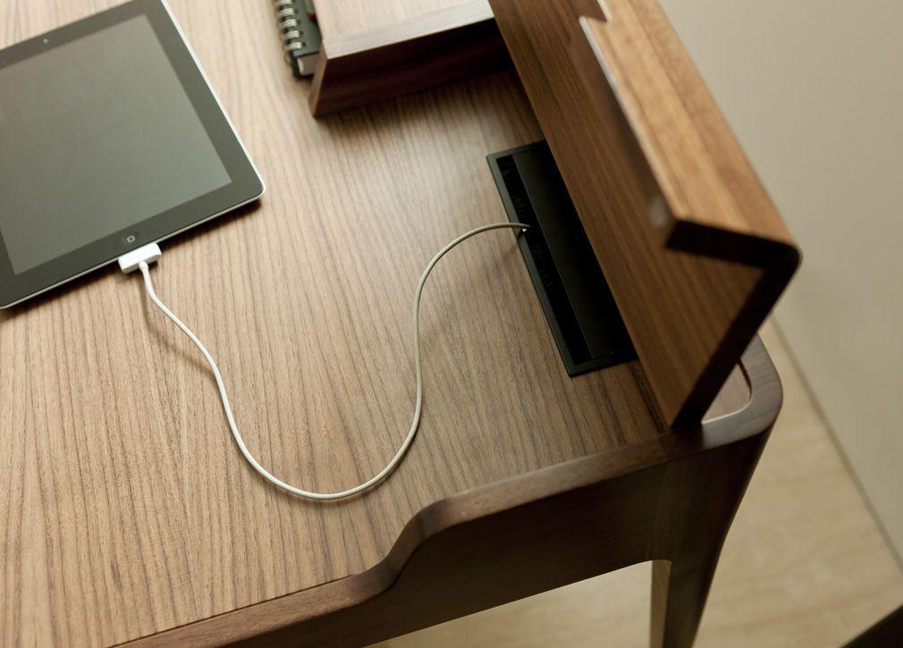 Porada Saffo Writing Desk Porada Furniture At Go Modern HOME - Contemporary writing desk furniture