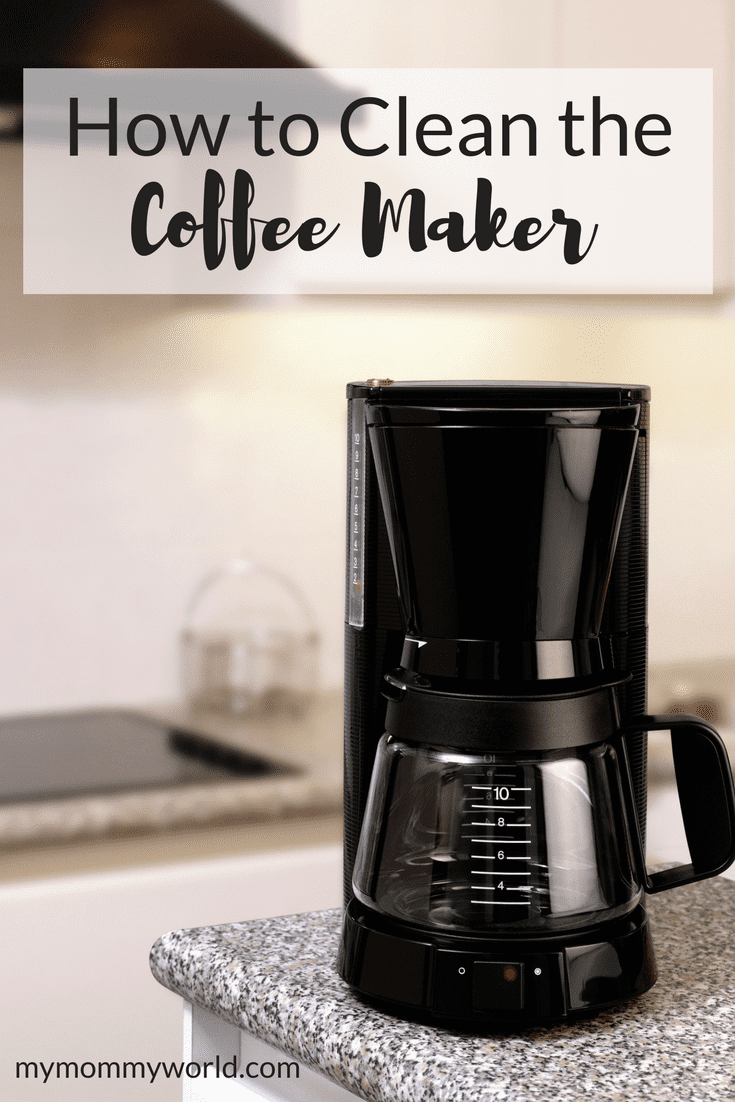 How to Clean a Coffee Maker Coffee pot cleaning, Coffee